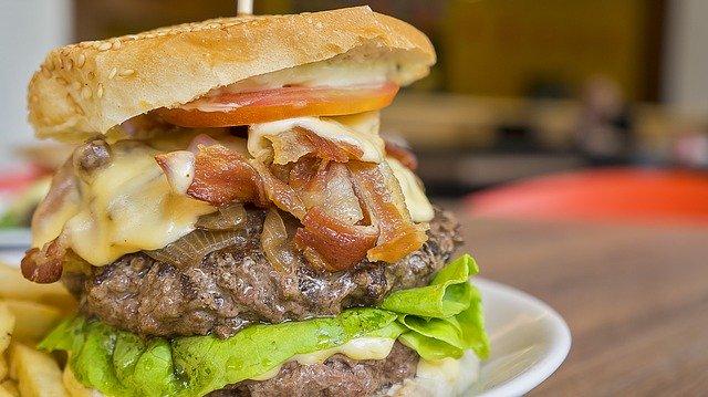 a fatty burger